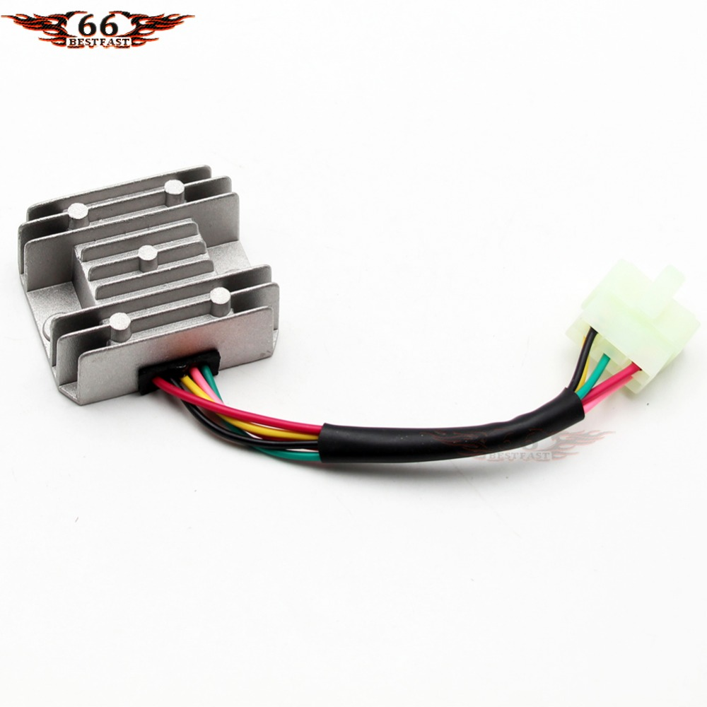 Voltage Regulator 5 Wire For Honda Cg 125cc 150cc 200cc 250cc Atv Wiring Dirt Bike Go Kart New In Motorbike Ingition From Automobiles Motorcycles On