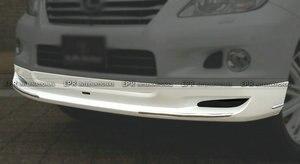 Передняя губа FRP для Toyota Land Cruiser Prado(09/9-13/8) GRJ15 TRJ15 J150 LXM, Стекловолоконный передний спойлер, комплект для гонок