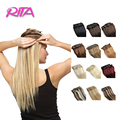 18-28 Inch Clip In Human Hair Extensions 100 -120g Human Hair Clip In Extensions 8Pieces/Set Remy Hair Clip Cabelo Tic Tac