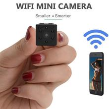 Camsoy Mini Wifi Wireless Infrared Night Vision Camera Security Surveillance Camcorder 1080P HD IP Motion Detection DV DVR Cam alarm clock camera wifi cameras wireless mini nanny cam motion detection home surveillance security night vision temperature