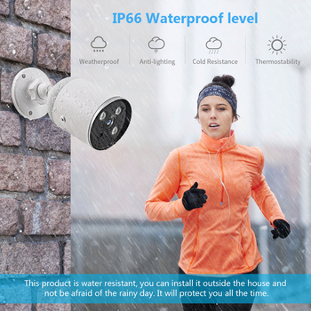 1080P IP66 Waterproof Outdoor Bullet Camera - YCC365 5