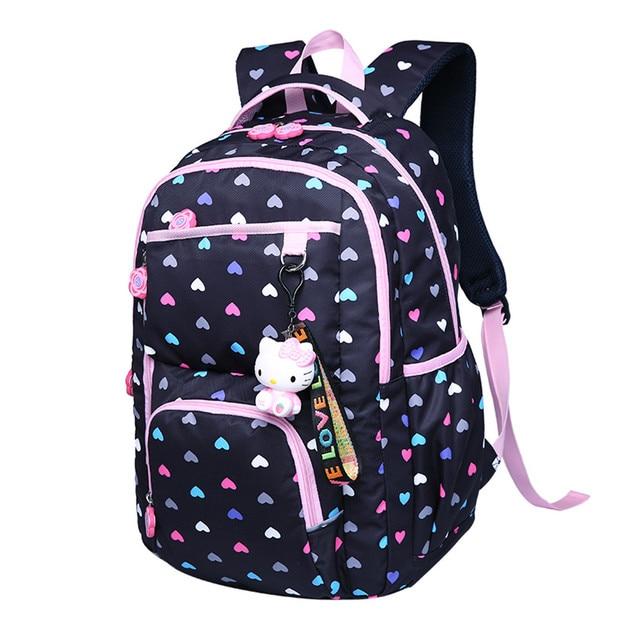 41041922cc kids cute waterproof flower printing school backpack children backpacks for girls  schoolbag japanese school bag pack