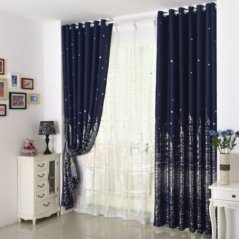 buy eco friendly curtains for kids children cartoon blackout panel drapes window treatment zoo from reliable curtains for
