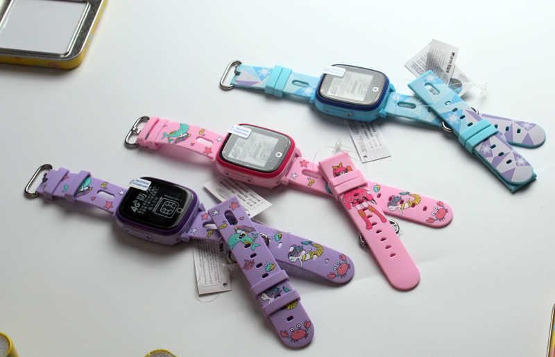 Mengganti Tali Smart Watch untuk DF31 DF33 DF27 20 Mm Lebar Tali Anak GPS Tracker Watchband Silikon Pergelangan Tangan Sabuk gelang