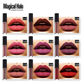 38colors/set Brand Nude Waterproof Liquid Matte Lipstick kit Non-stick Sexy Colors Liquid Lipstick Lip Gloss Paint  Lipstick Set