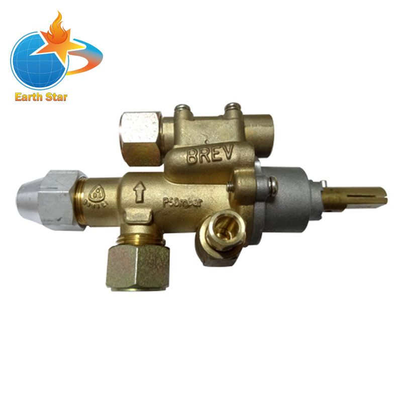 Good quality Catering cooking Equipement 22S Gas Valve with Pilot and Olive components цена 2017