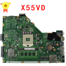 X55VD Laptop Motherboard For ASUS x55vd X55C laptop DDR3 USB3.0 HM76 Motherboard