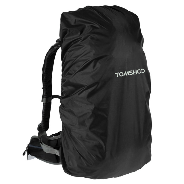 TOMSHOO Backpack Rain Cover Dust Cover 40-50L Waterproof Climbing Bag Cover Bag Accessories for Outdoor Hiking Camping Traveling