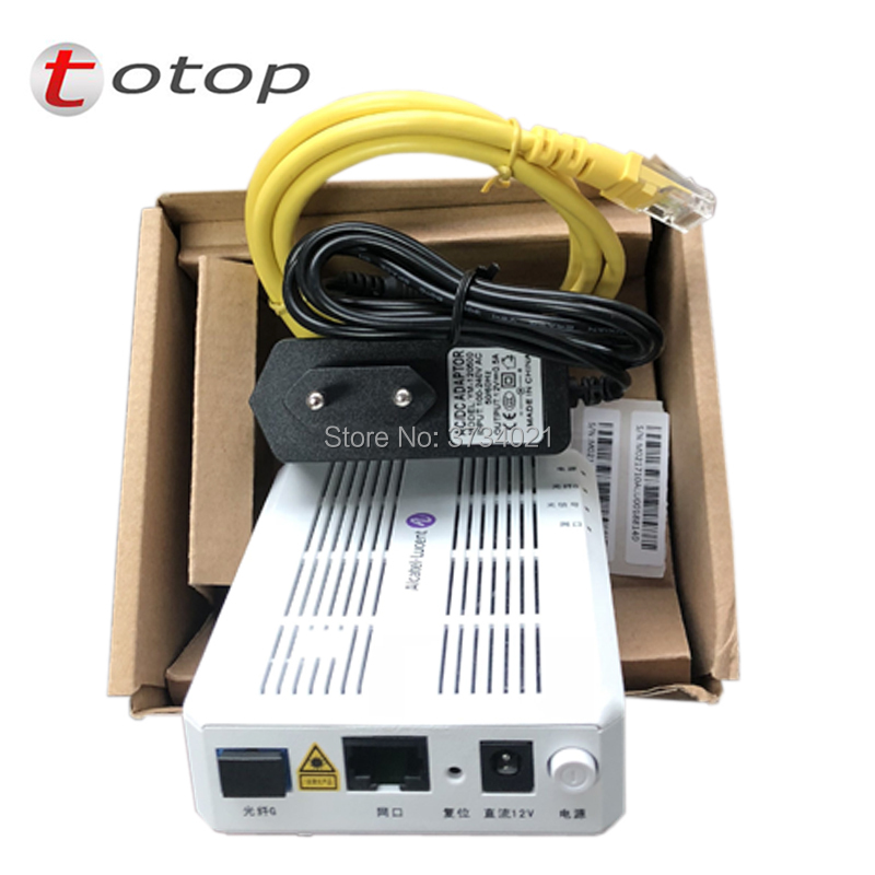 Alcatel Lucent I-010G GPON ONU/ONT 1 GE Port Similar With Huawei HG8310M ,ZTE ZXHN F643