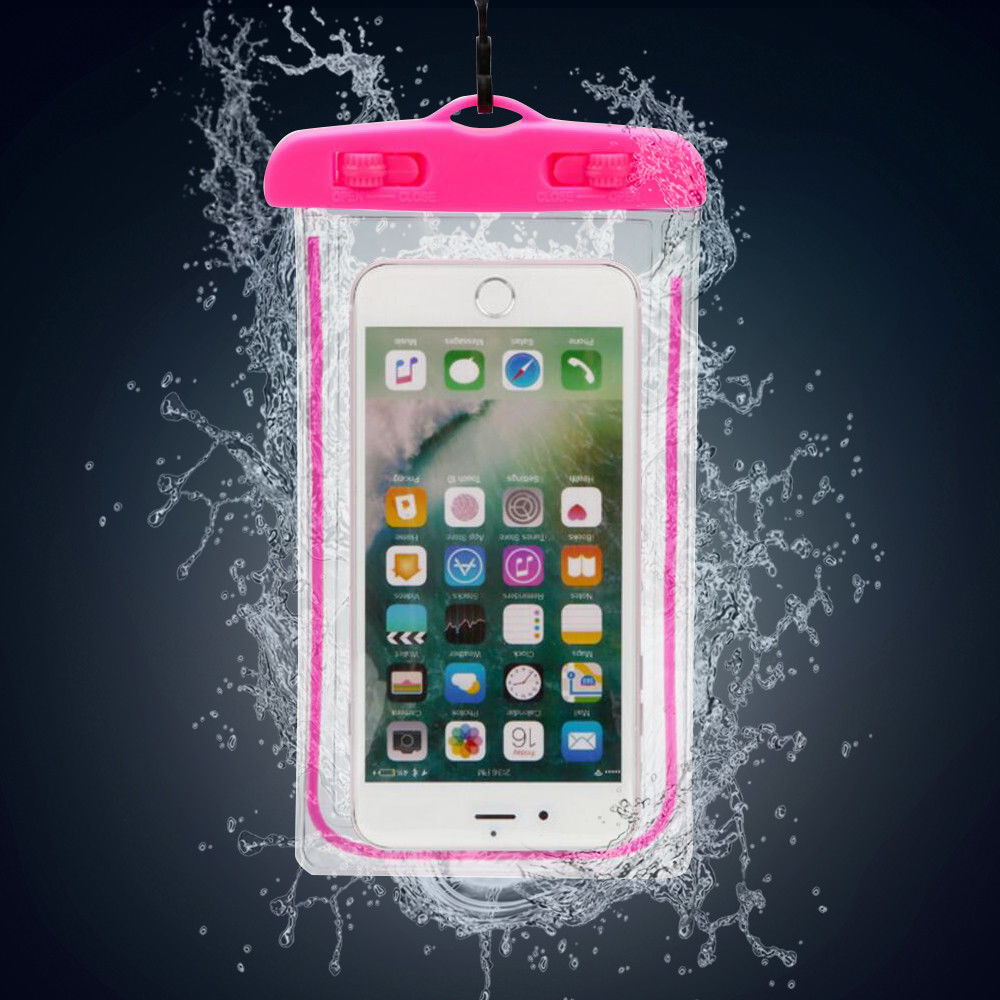 New Swimming Waterproof Underwater Pouch Bag Pack Dry Case For IPhone Cell Phone High Quality PVC Transparent Phone Bag