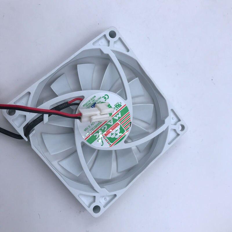 New MGA8012LF-O15 MGA8012LF-015 Refrigerator fan 80*80*15mm 80mm DC12V 0.10A