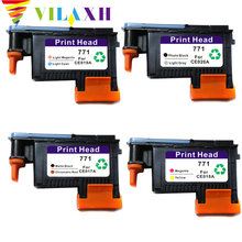 Vilaxh 771 print head Replacement For HP 771 For DesignJet Z6200 Printhead CE017A CE018A CE019A CE020A цена