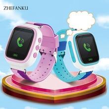 GPS Q80 WIFI Positioning Kids Children Smart Baby Watch SOS Call Location Locator Tracker Kid Safe Anti Lost Monitor Smart Watch