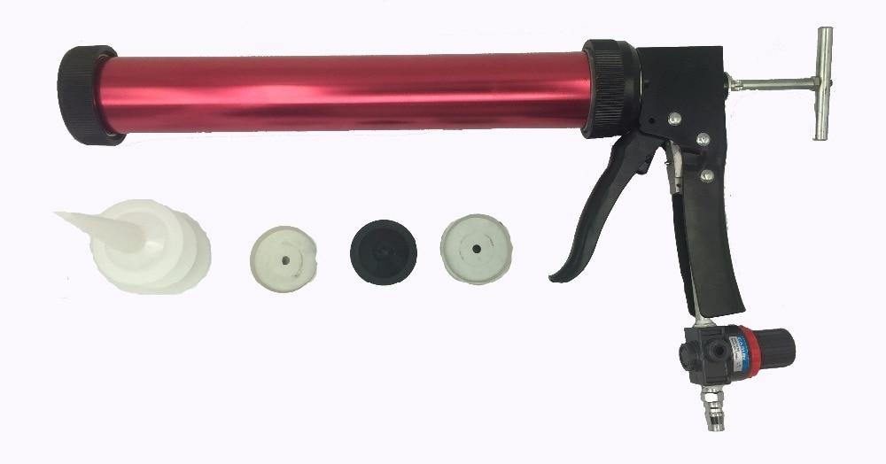 Pistola per calafataggio ad aria compressa con applicatore per - Strumenti di costruzione - Fotografia 1