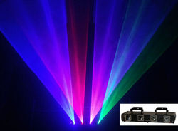Aobolighting 4 obiektyw tunel 980 mW RGBP światło laserowe bardziej wydajne więcej piękny czerwony niebieski zielony różowy etap pokaż DJ oświetlenie