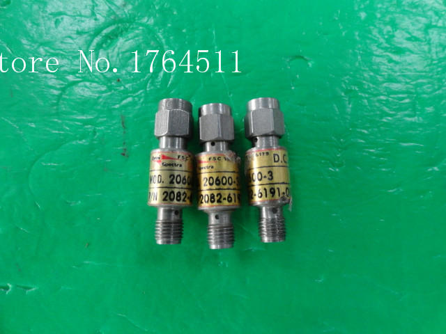 [BELLA] M/A-COM 20600-3 DC-18GHz 3dB 2W RF Coaxial Fixed Attenuator SMA  --3PCS/LOT