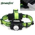 Skywolfeye XPE LED Bicicleta Farol Farol Recarregável USB 18650 Cabeça Da Lâmpada de Luz para a Noite Ao Ar Livre de Acampamento de Pesca Caminhadas