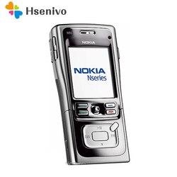 Оригинальный мобильный телефон Nokia N91, разблокированный, 8 ГБ, 4 Гб, 3G, Wi-Fi, обновленный, на арабском и русском языках