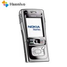 100% разблокирована оригинальный Nokia N91 8 ГБ 4 ГБ мобильный телефон разблокирован 3 г Wi-Fi арабский Русский язык Бесплатная доставка