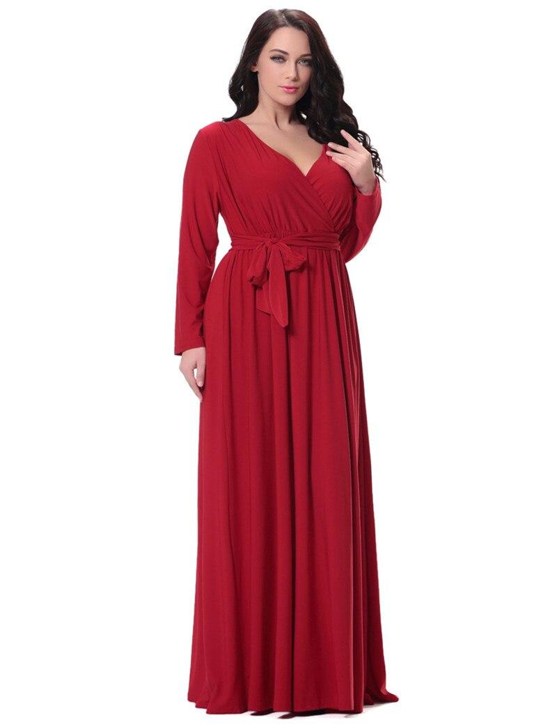 Popular Long Sleeve Floor Length Dress-Buy Cheap Long Sleeve Floor ...