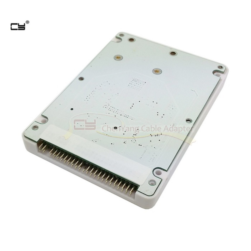 Mini SATA mSATA SSD to 44Pin IDE Adapter Card for 2.5-Inch IDE HDD