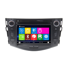 Free Shipping 7 inch Car DVD player GPS Navigation For Toyota RAV4 2006 2007 2008 2009 2010 2011 with RDS Steering wheel control