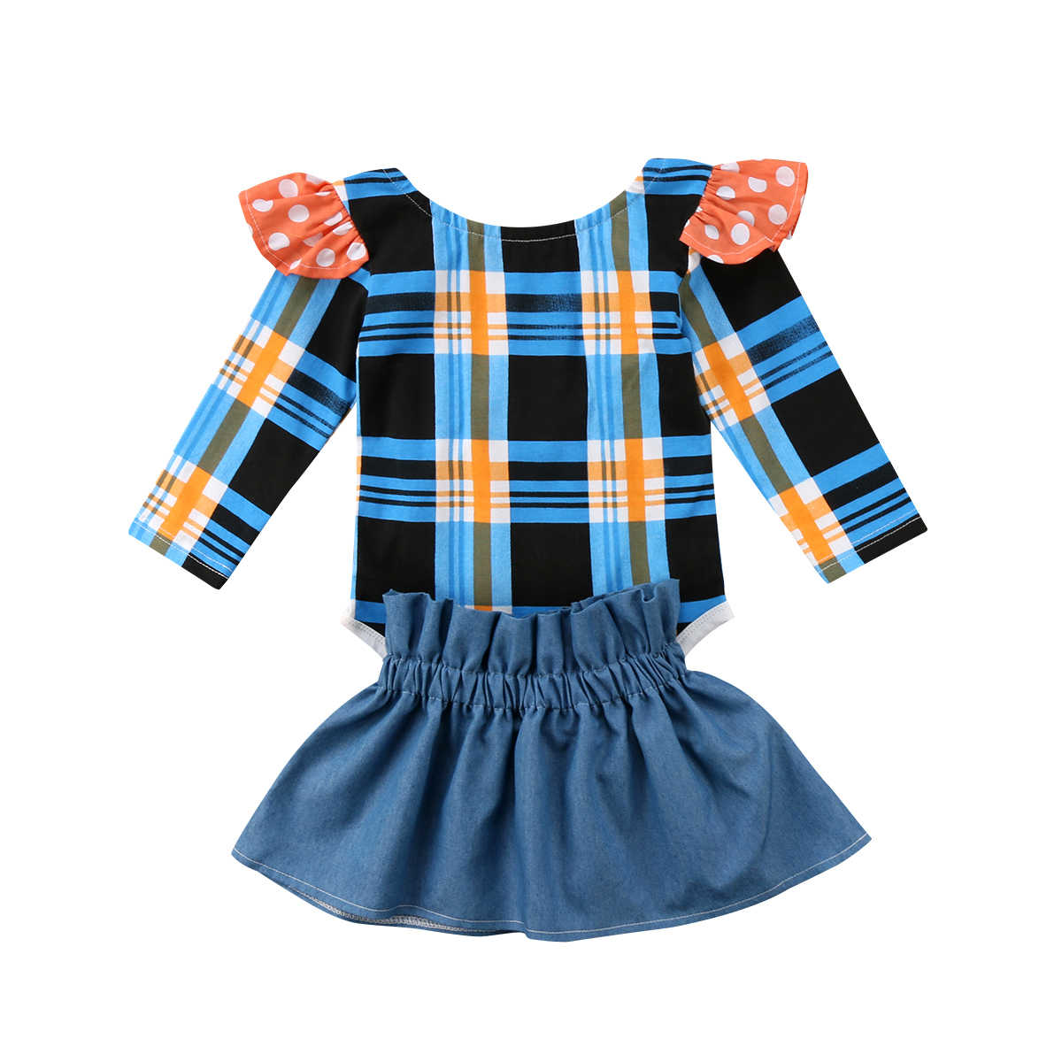 1ee66e39b Detail Feedback Questions about 2018 Cute Newborn Baby Tartan Plaid ...