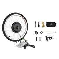 36V 500W Powerful 26 Inch Electric Bicycle E Bike Motor Conversion Kit Rear Wheel Cycling Hub Bike Wheels Accessories Tool