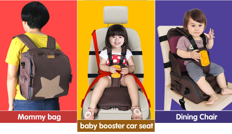 3 in 1 Multi-function for storage & waterproof Seat strap adapter kids feeding chair