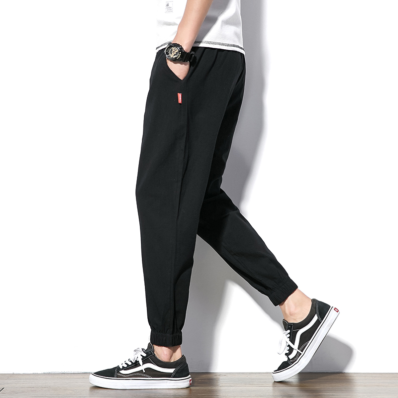 2018 autumn new casual men 39 s pants hip hop plus fat large size joggers loose feet sweatpants men 39 s trousers streetwear in Skinny Pants from Men 39 s Clothing