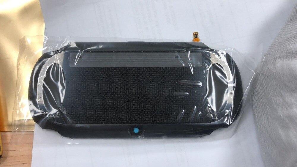 Original 90% New Black/white/silver Color Housing Back Cover Case For PSVita PS Vita PSV 1000 PCH 1001 1004 1104 1XXX Console