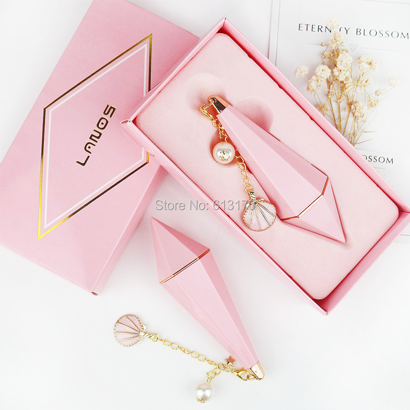 2/5pcs 12.1mm Empty Pink Lipstick Tubes,Pink Lip Balm Tube With Pink Paper Box, Pink DIY Lip Gloss Packing Container pink lipstick мини платье с капюшоном