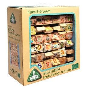 Mignon Montessori abacus Enfants D'apprentissage de Développement Polyvalent Boulier En Bois pour enfants En Bois Mathématiques Jouets éducatifs outil W106