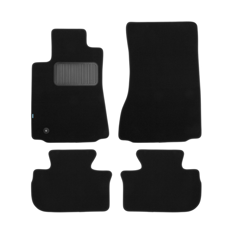 Mats in salon Klever Premium For CADILLAC CTS AUTOMATIC TRANSMISSION 4WD 2007-2014, сед... 4 PCs (textile) mats in the salon for cadillac cts 06 2007 4wd 4 pcs polyurethane