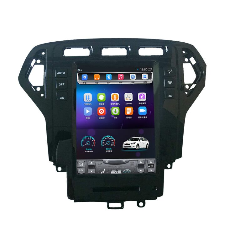 32G ROM Vertical screen android car gps multimedia video radio player in dash for Ford Mondeo 2007-2010 years navigaton system