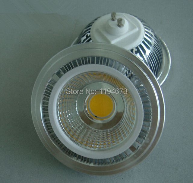 Hot Sale LED AR111 15W cob bridgelux LED,ES111,QR111,full aluminum,GU10 LED Spo light, AC85-265V,free shipping