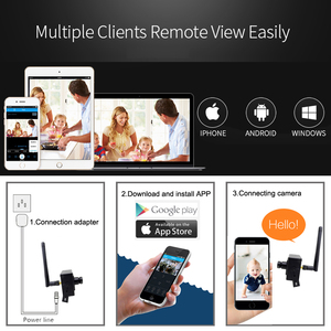 Image 5 - واي فاي البسيطة كاميرا Ip 1080 P HD 960 P 720 P أمن الوطن اللاسلكية الصوت مايكرو IPCam صغيرة CCTV مراقبة دعم مايكرو Sd فتحة