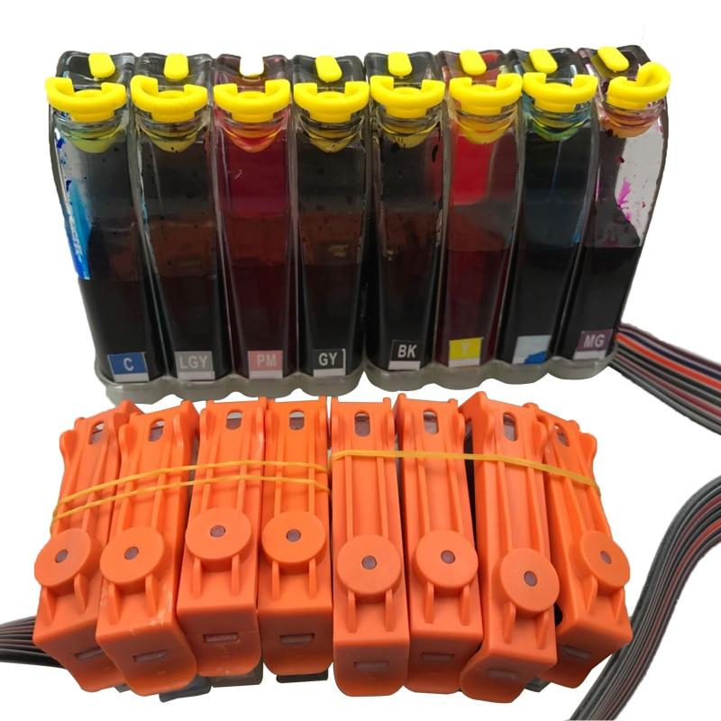 1 Set CISS דיו מלא עבור Canon CLI42 42 CLI-42 Pixma PRO 100 מחסנית דיו למדפסת CLI 42 לpixma Pro-100