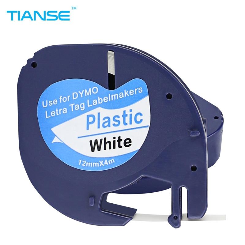 Fitas para Impressora lt 91201 fitas para impressora Color : Black on White (plastic)