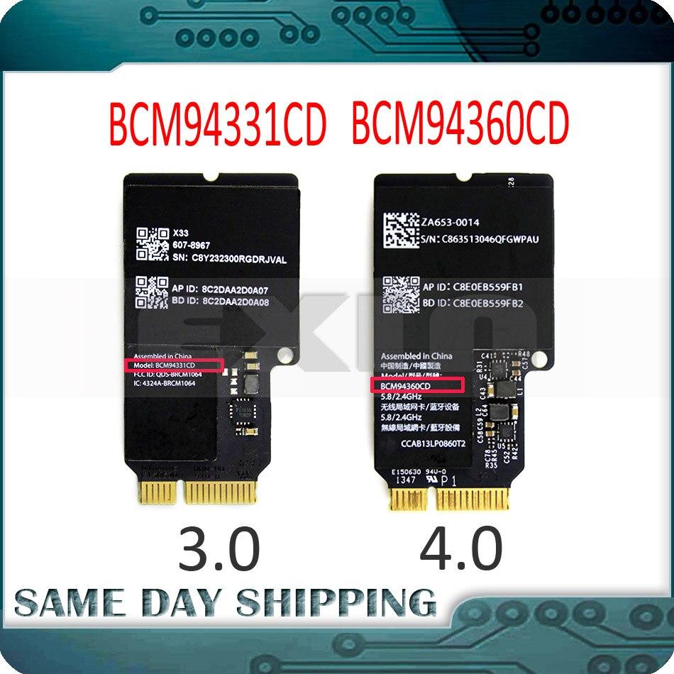 Used Wifi Card BCM94360CD 4.0 BCM94331CD 3.0 For Apple IMac 21