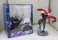 Tokyo Ghoul Anime Cartoon Character Kaneki Ken 23cm PVC Action Figure Model Toys Gifts