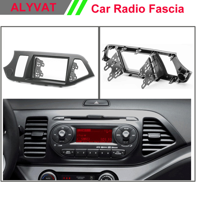 Kia Picanto X Line S 5 Door Hatchback: Car Radio Frame Fascia For KIA Picanto (TA), Morning (TA