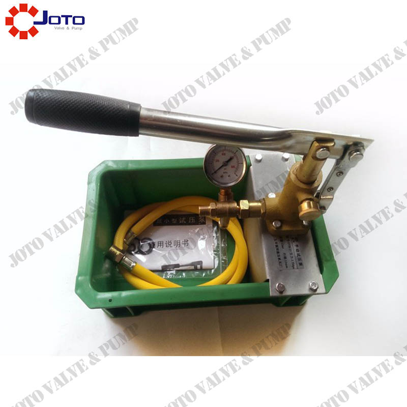 manual water pressure test pump SB 6.3 PPR pipe test press machine with interruptor
