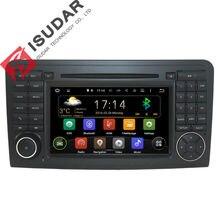 Android5.1.1! dos Din 7 Pulgadas de Coches Reproductor de DVD Para Mercedes/Benz GL ML CLASE W164 ML350 ML450 GL320 GL450 X164 Wifi GPS BT Radio