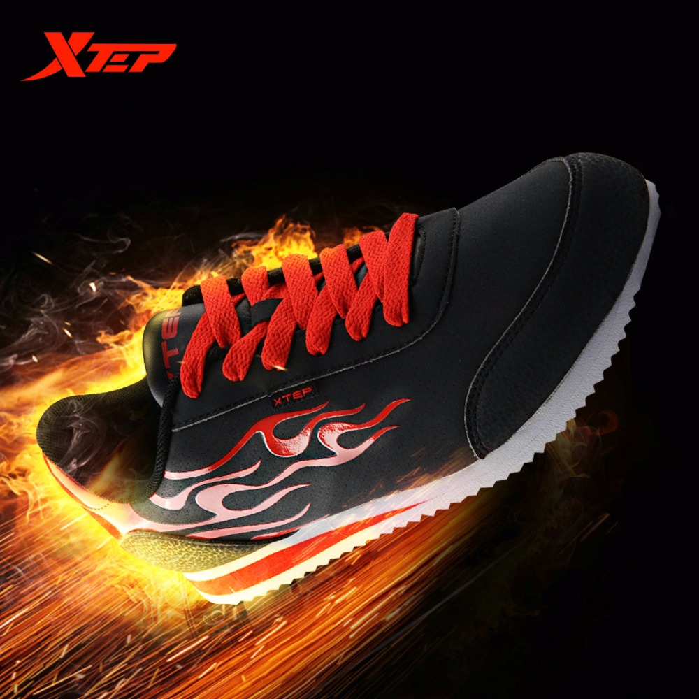 XTEP Marca Homens Marca XTEP Original Sapatos Agam Clássico Tênis de Corrida c9676b