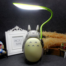 Creative cartoon Totoro USB charging night light Miyazaki Jun child Learning Desk Lamp LED energy saving decorative lights