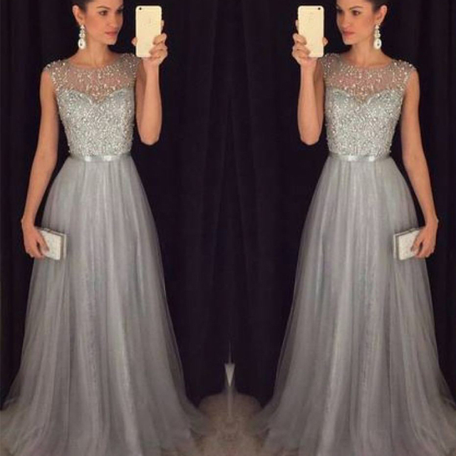 33a35f2168c Fashion Sequin Patchwork Dress 2019 Evening Party Sleeveless O Neck Long  Belt Slim Elegant Dress Women Maxi Vestidos sukienki