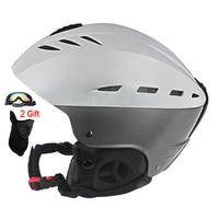 Hot Sale Ski Helmet CE Certification Winter Snow Skiing Snowboard Skateboard Helmet 55 61CM ABS PC