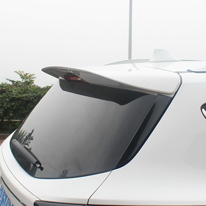 for sford Escape Kuga Spoiler 2013-2017 ford Escape Kuga Spoiler High Quality ABS Material Car Rear Wing Primer Color