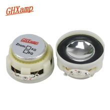 GHXAMP 1,2 pulgadas Mini altavoces de rango completo 8OHM 3W paño borde serie de cristal Bluetooth altavoz DIY 1 par